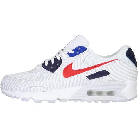 Nike Air Max 90 Sneaker weiß/rot