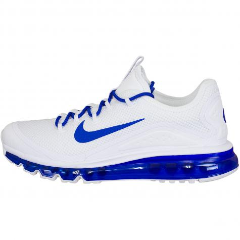 Nike Sneaker Air Max More weiß/royal