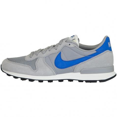 Nike Sneaker Internationalist silber/blau