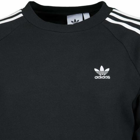 Adidas Originals Sweatshirt 3-Stripes Crew schwarz