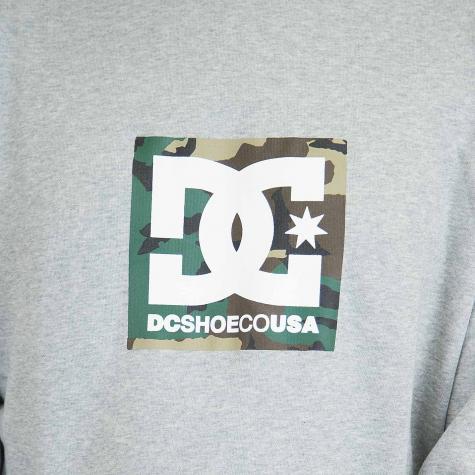 DC Shoes Sweatshirt Camo Boxing grau