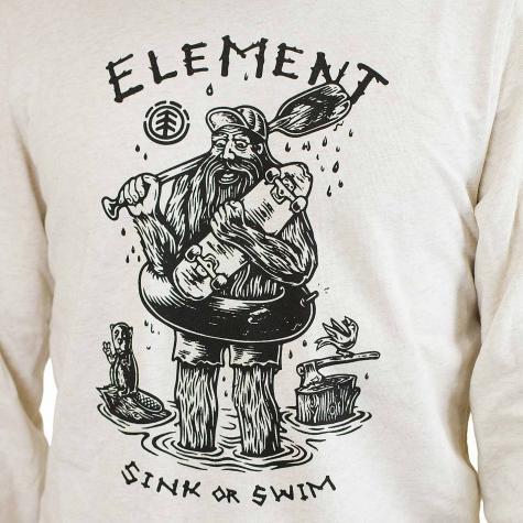Element Sweatshirt River Keeper beige