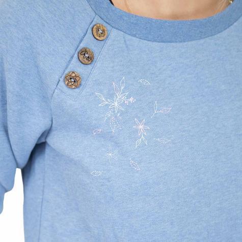 Ragwear Damen Sweatshirt Daria blau