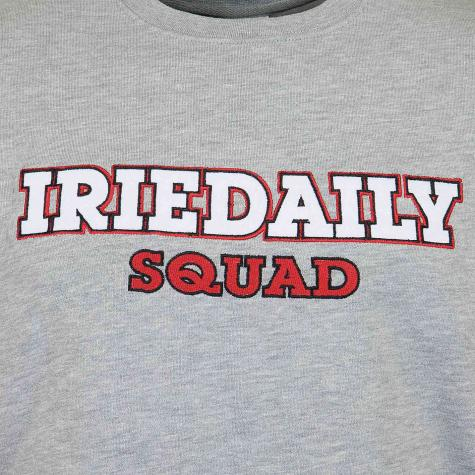 Iriedaily Sweatshirt ID Squad grau