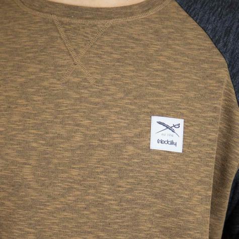 Iriedaily Sweatshirt Slubhead Raglan caraschwarz
