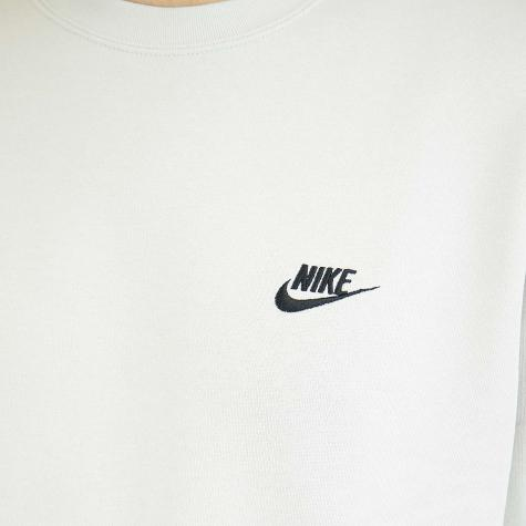 Nike Sweatshirt Club Fleece bone/schwarz