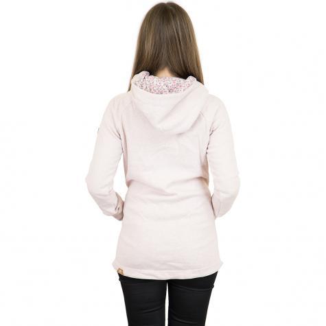 Ragwear Damen Sweatjacke Ava Long pink