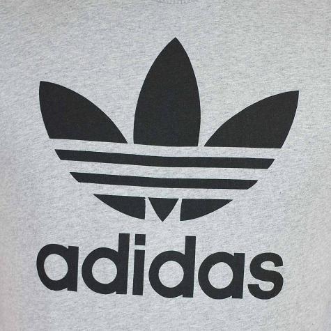 Adidas Originals T-Shirt Trefoil grau meliert