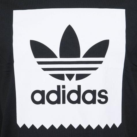 Adidas Originals T-Shirt Solid BB schwarz/weiß