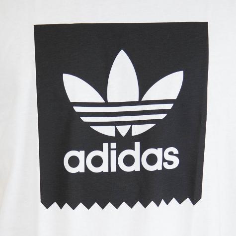 Adidas Originals T-Shirt Solid BB weiß/schwarz