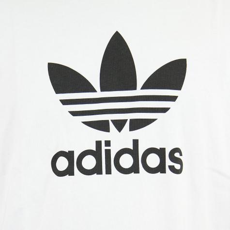 Adidas Originals T-Shirt Trefoil weiß/schwarz