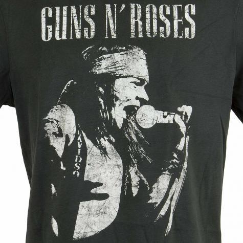 Amplified T-Shirt Guns`n`Roses Axel Rose Proflie dunkelgrau
