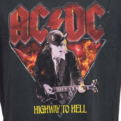 Amplified T-Shirt ACDC Highway to Hell dunkelgrau
