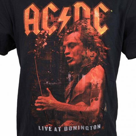Amplified T-Shirt ACDC Live at Donningto schwarz