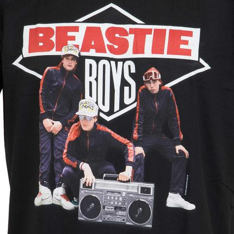 Amplified T-Shirt Beastie Boys Boom Box schwarz