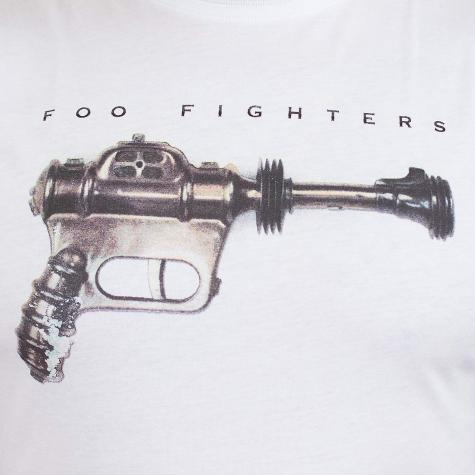Amplified T-Shirt Foo Fighters Ray Gun weiß