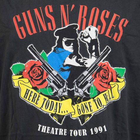 Amplified T-Shirt Guns`n Roses gone to Hell dunkelgrau