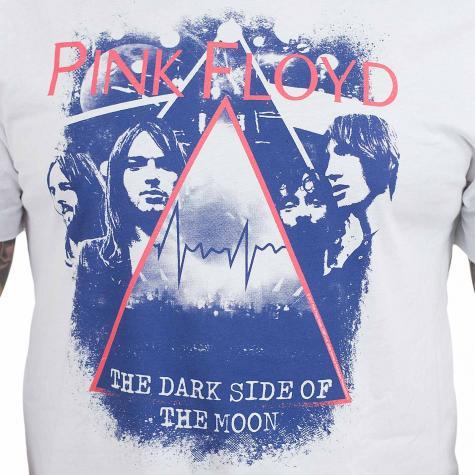 Amplified T-Shirt Pink Floyd Pyramid Fac weiß