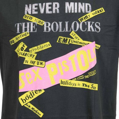 Amplified T-Shirt Sex Pistols never Mind the Bollocks dunkelgrau