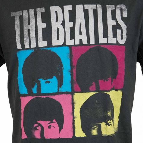 Amplified T-Shirt The Beattles hard Days dunkelgrau