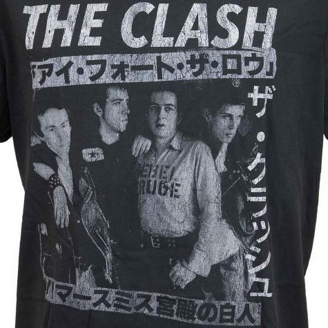 Amplified T-Shirt The Clash Tour Poster dunkelgrau