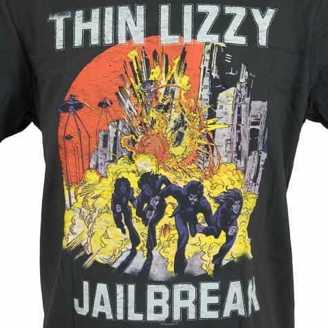 Amplified T-Shirt Thin Lizzy Jailbreak dunkelgrau