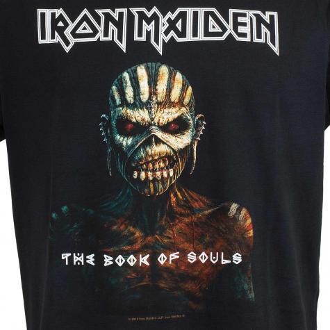 Amplified T-Shirt Iron Maiden Book of Souls schwarz