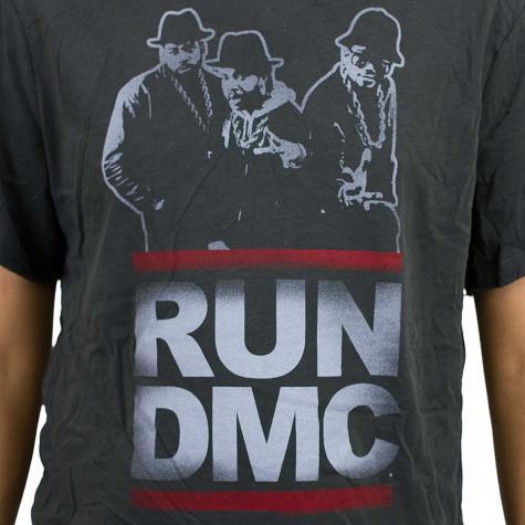 Amplified T-Shirt Run DMC Silhouette dunkelgrau