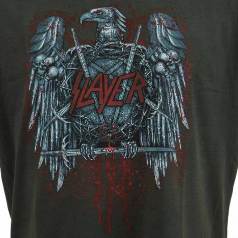 Amplified T-Shirt Slayer Metal Eagle dunkelgrau