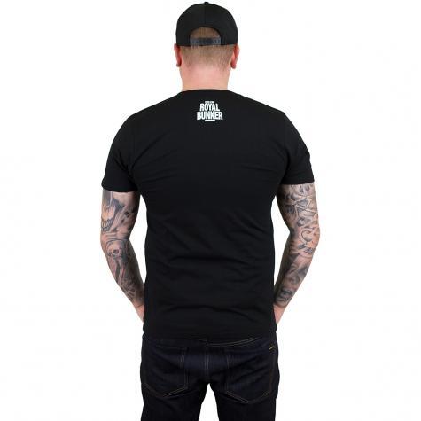 Bravado T-Shirt Royal Photo Savas & Sido schwarz