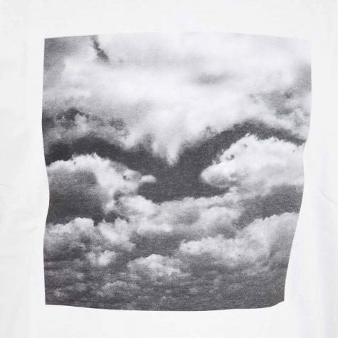 Cleptomanicx T-Shirt Clouds weiß