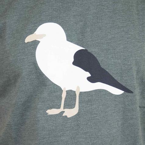 Cleptomanicx T-Shirt Gull 3 oliv
