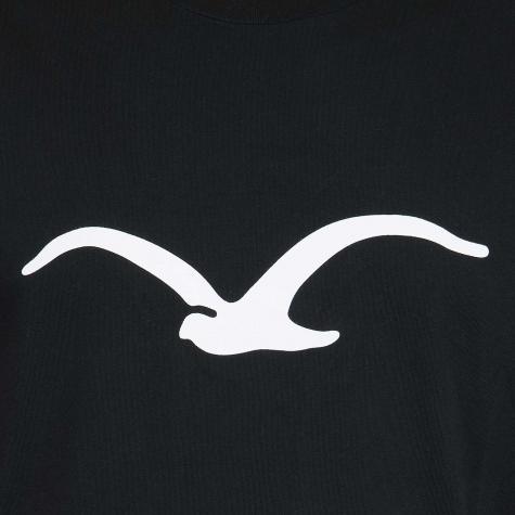 Cleptomanicx T-Shirt Mowe schwarz