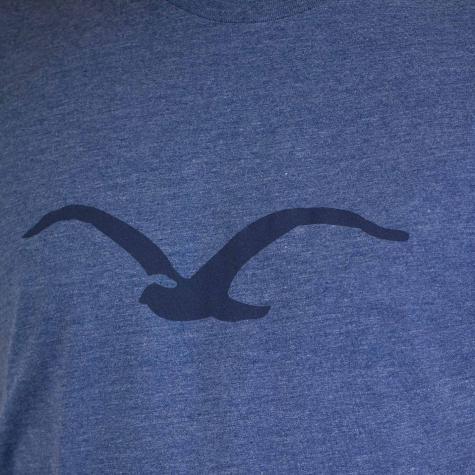 Cleptomanicx T-Shirt Mowe Tonal blau