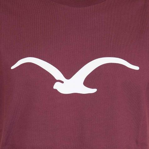 Cleptomanicx T-Shirt Mowe weinrot
