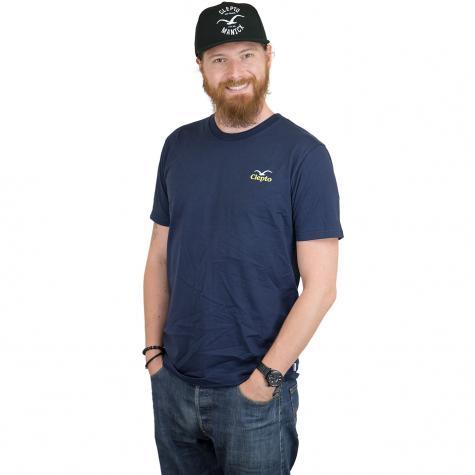 Cleptomanicx T-Shirt Pong dunkelblau