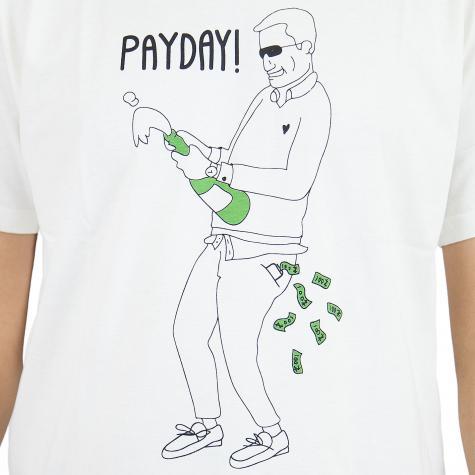 Dedicated T-Shirt Payday weiß