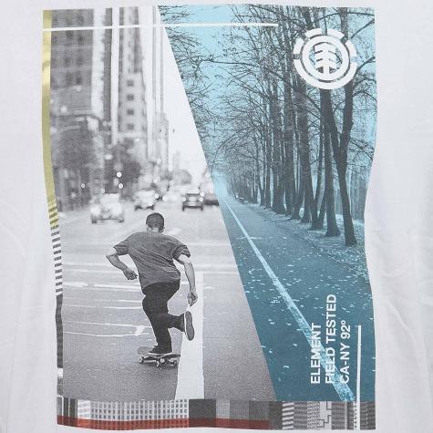 Element T-Shirt Avenue weiß