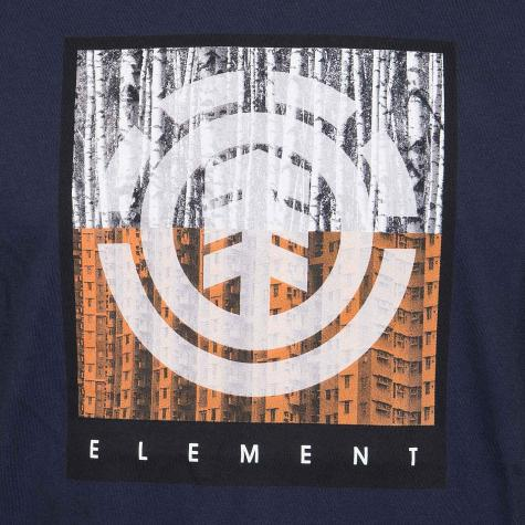 Element T-Shirt Density dunkelblau