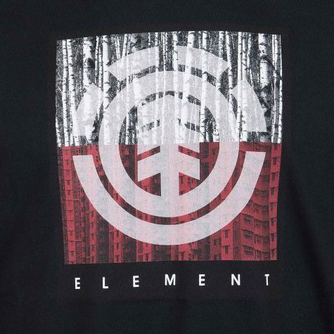 Element T-Shirt Density schwarz