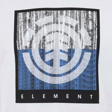 Element T-Shirt Density weiß