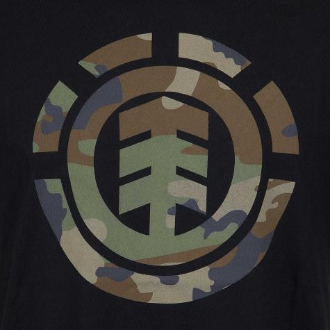 Element T-Shirt Foundation Icon flint schwarz