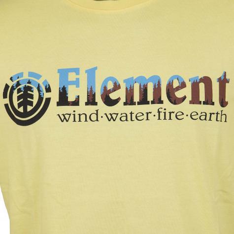 Element T-Shirt Glimpse Horizontal gelb