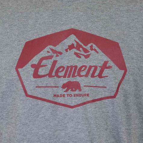 Element T-Shirt Journey grau