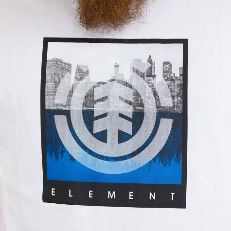 Element T-Shirt Reflections opt weiß