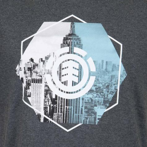 Element T-Shirt Rotation dunkelgrau