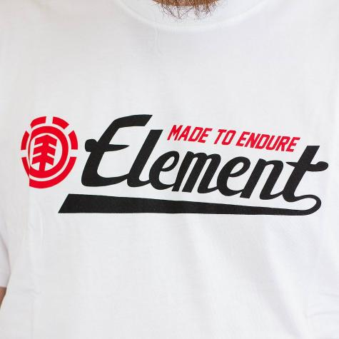 Element T-Shirt Signature weiß