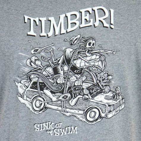 Element T-Shirt Woody grau