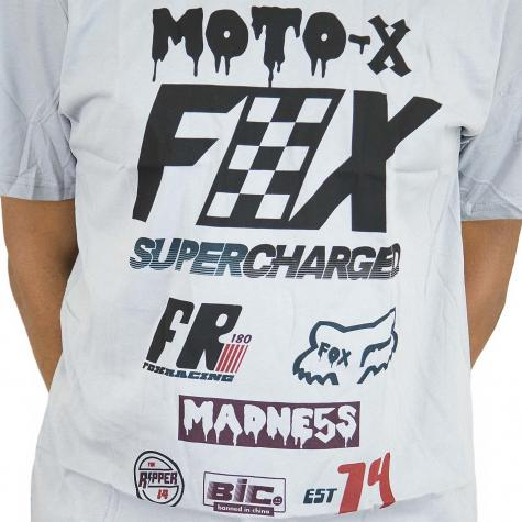 Fox Head T-Shirt Czar steel grau
