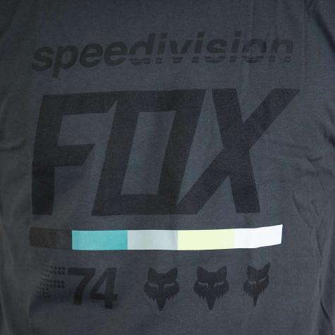 Fox T-Shirt Draftr 2 schwarz vintage